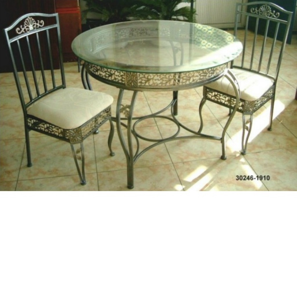 30246-1910 Wooden/Metal Dining Set