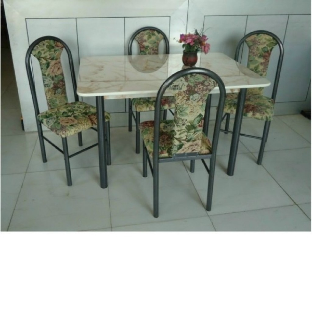 30246-211102-4 Wooden/Metal Dining Set