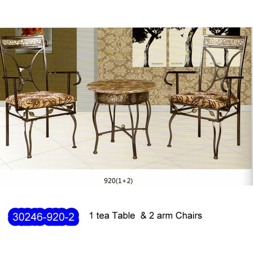 30246-920-2 Hotel Metal chair desk set