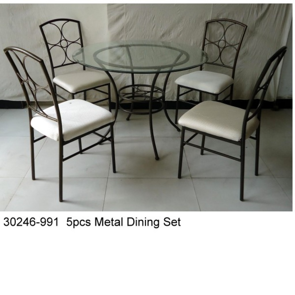 30246-1604 Glass Table Dining Set