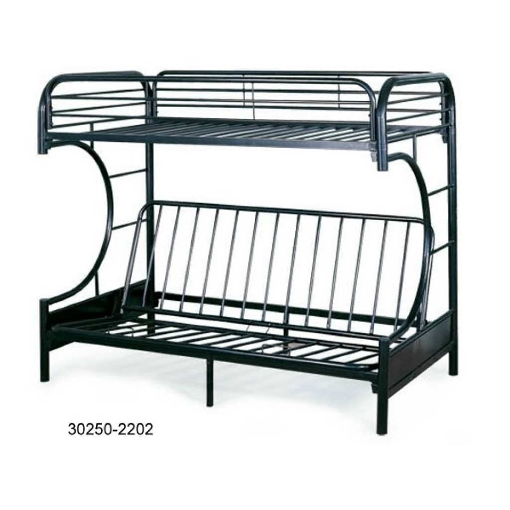 30250-2202 Metal Futon Bunk Bed