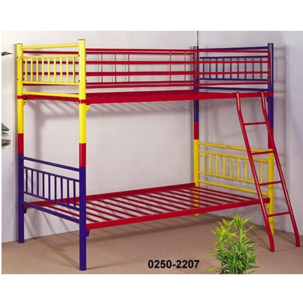 30250-2207 Metal Colorful Bunk Bed