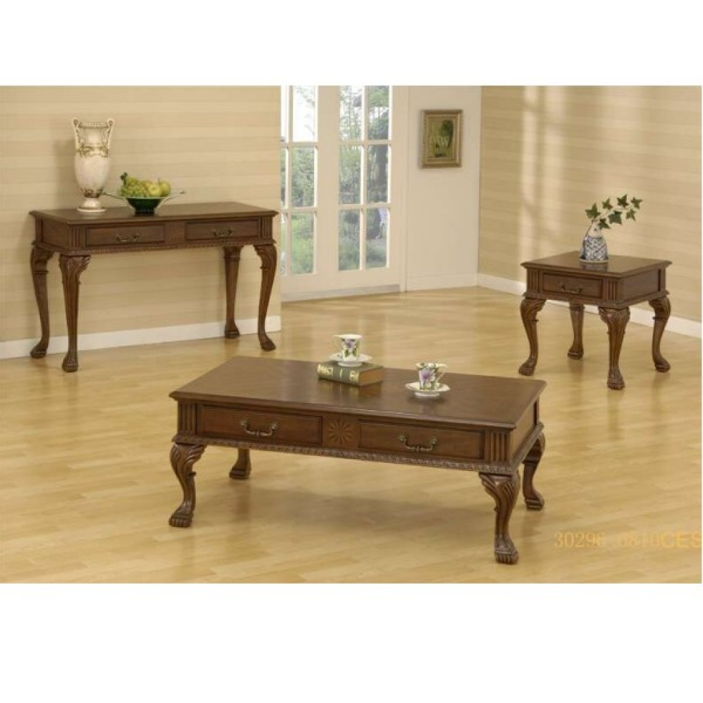 30296-0810 coffee table and end table