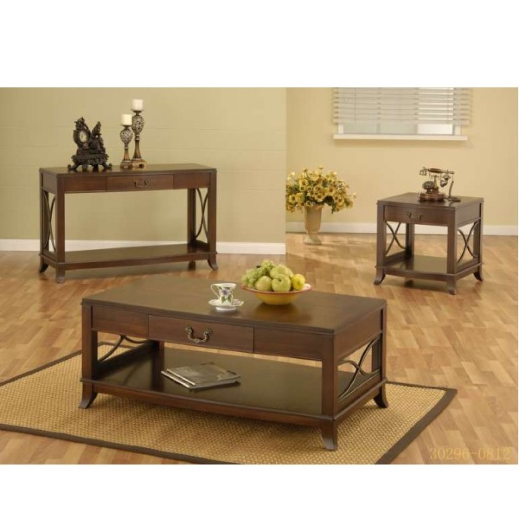 30296-0812 coffee table and end table