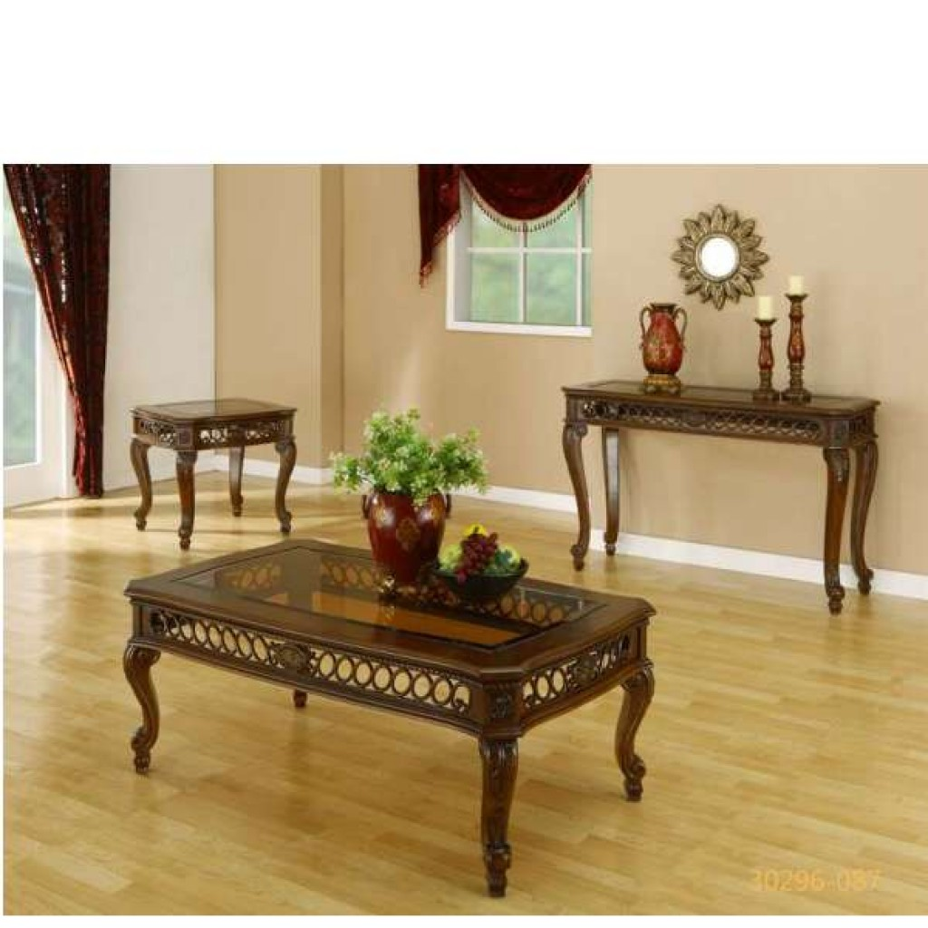 30296-087 coffee table and end table