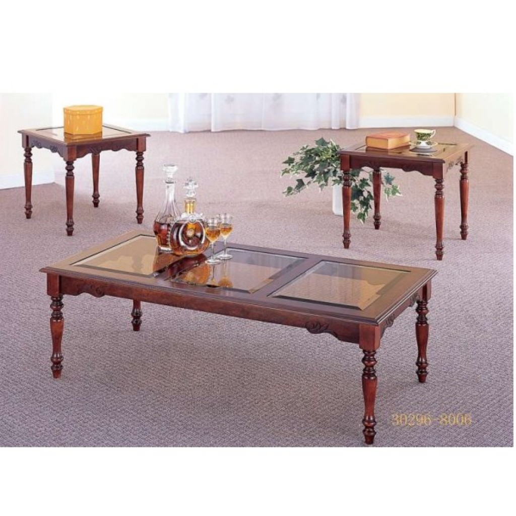 30296-8006G coffee table and end table