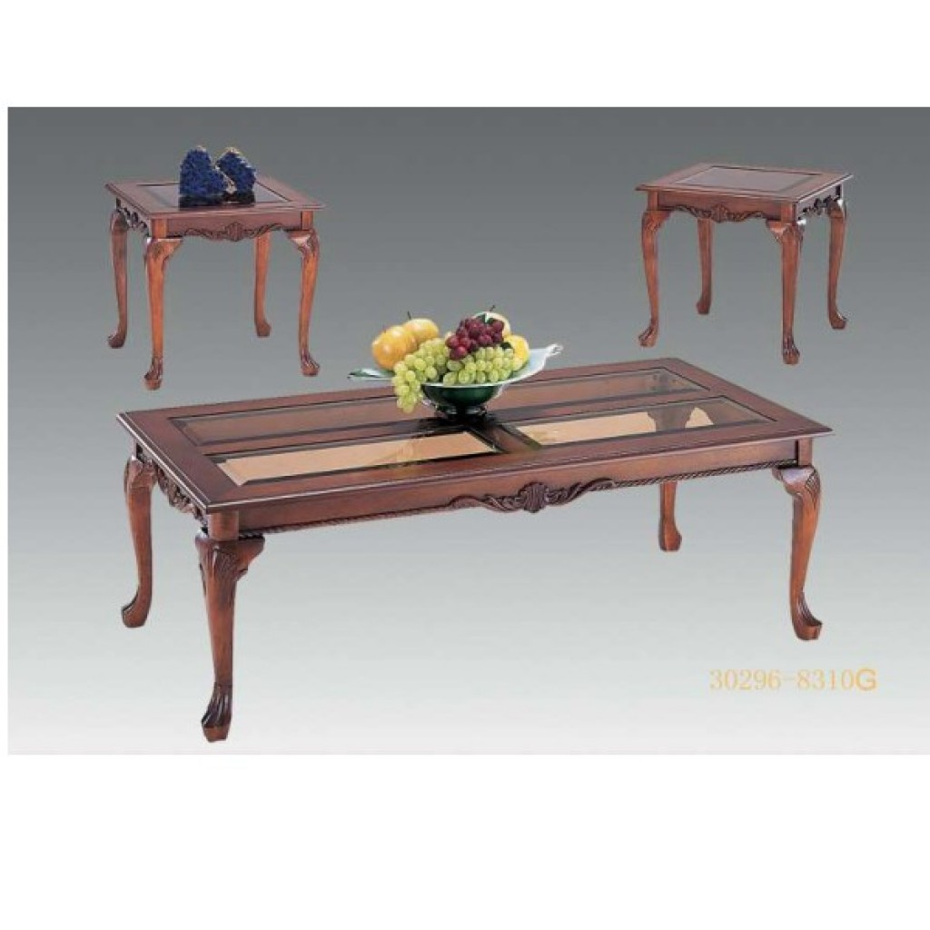 30296-8310G coffee table and end table