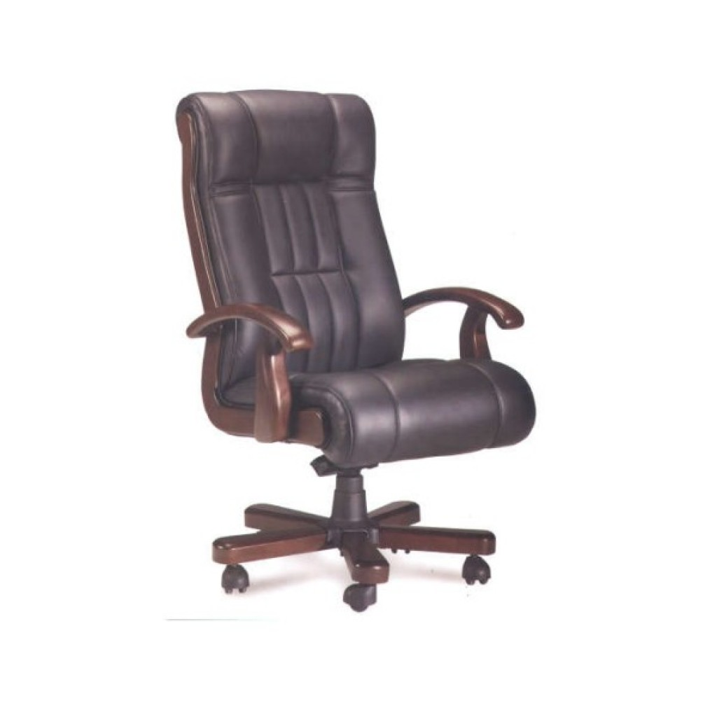 30297-HK-001 Leather Manager Office Chair