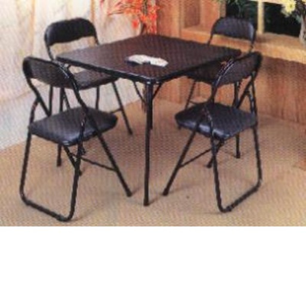 3039-908 Folding Table & Chair