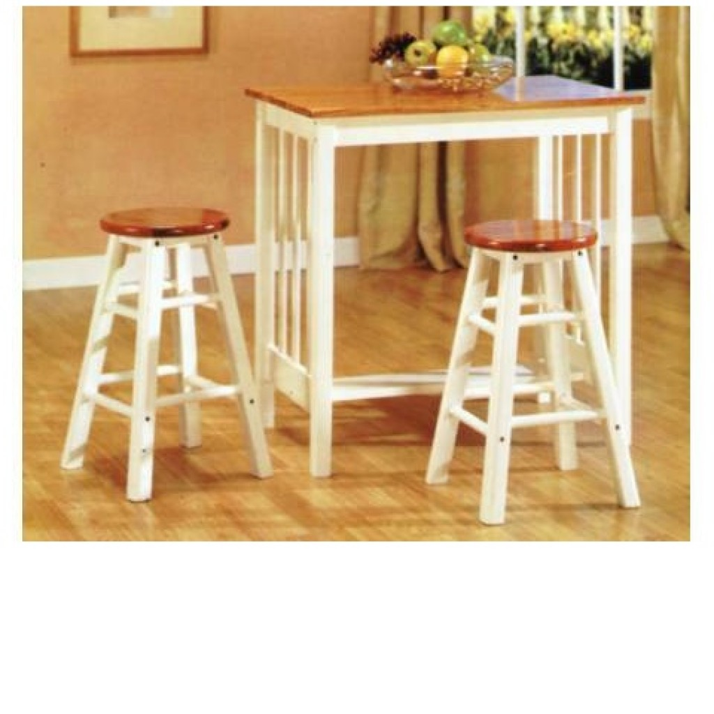 30405-0482 Wooden Bar Stool & Table