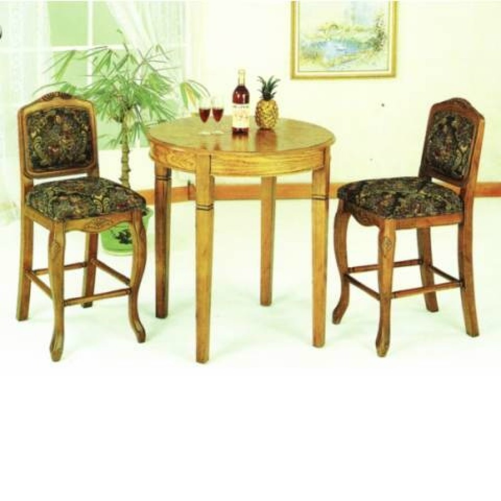 30405-282 Wooden Bar Stool & Tab