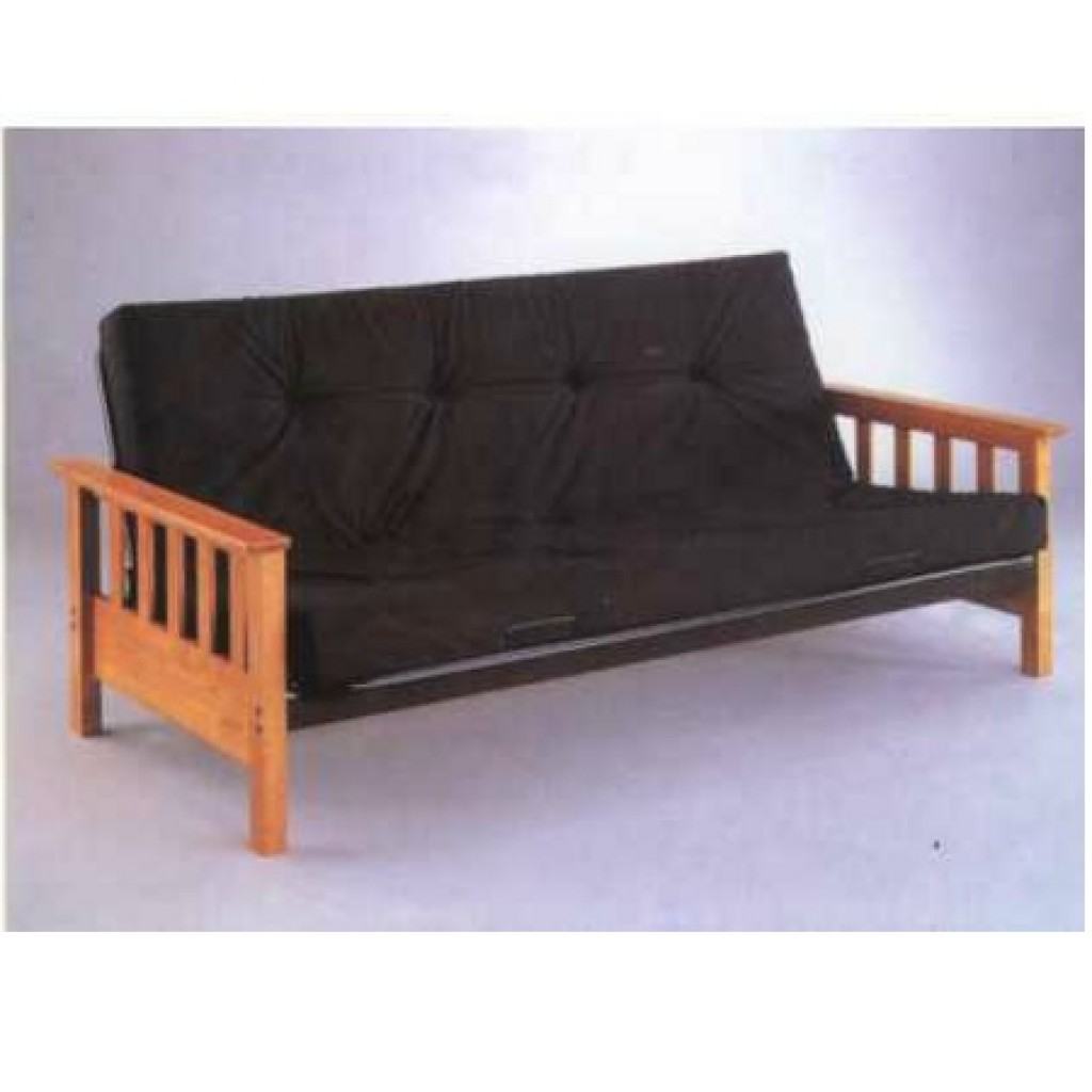 30405-M802 Metal/Wood Sofa-Cum-Bed