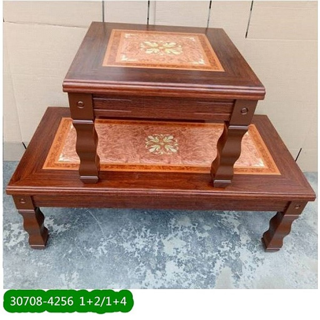 30708-4256 Stock, Wooden Coffee Table
