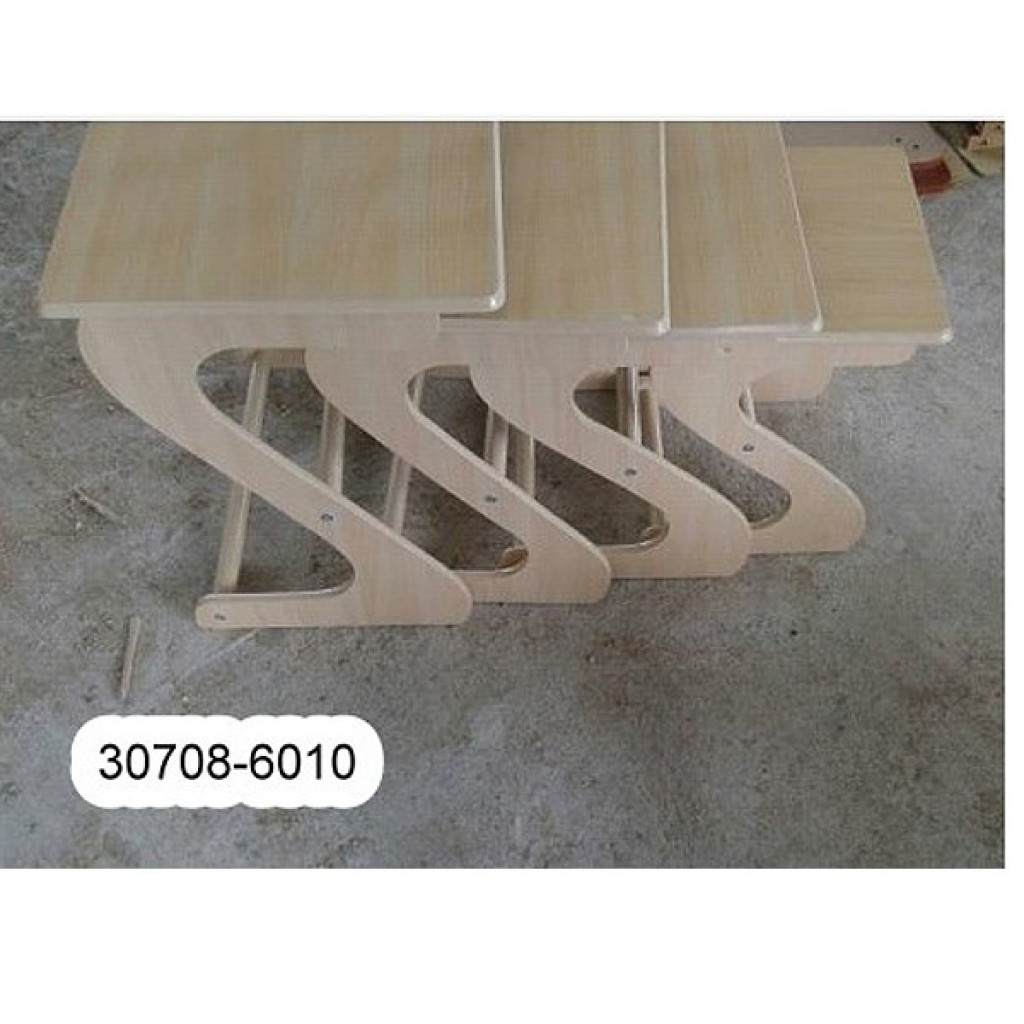 30708-6010 Stock, Wooden Nest Table