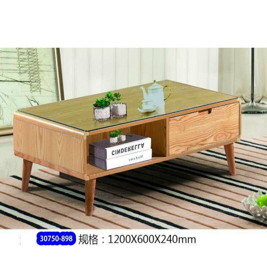 30750-898 Wooden Tea Table