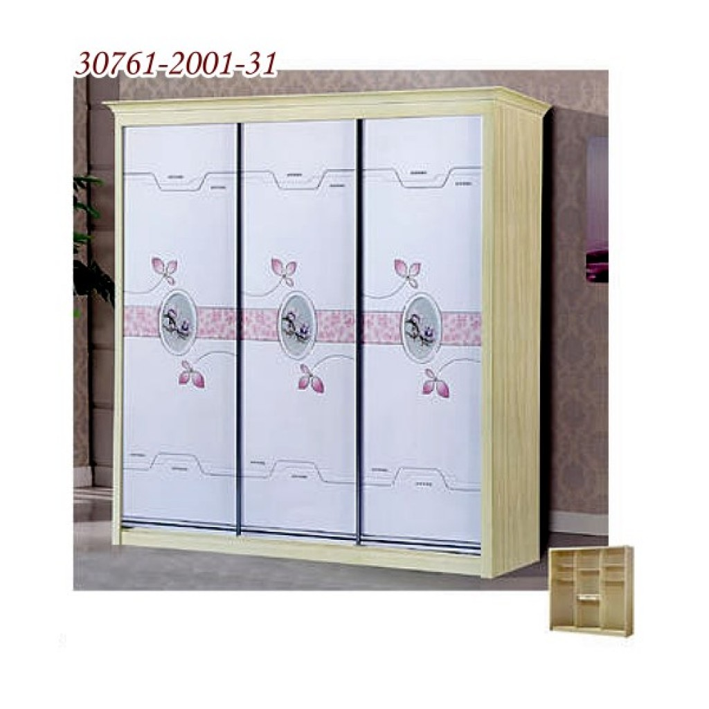 30761-2001-31 Wooden Sliding Door Closet