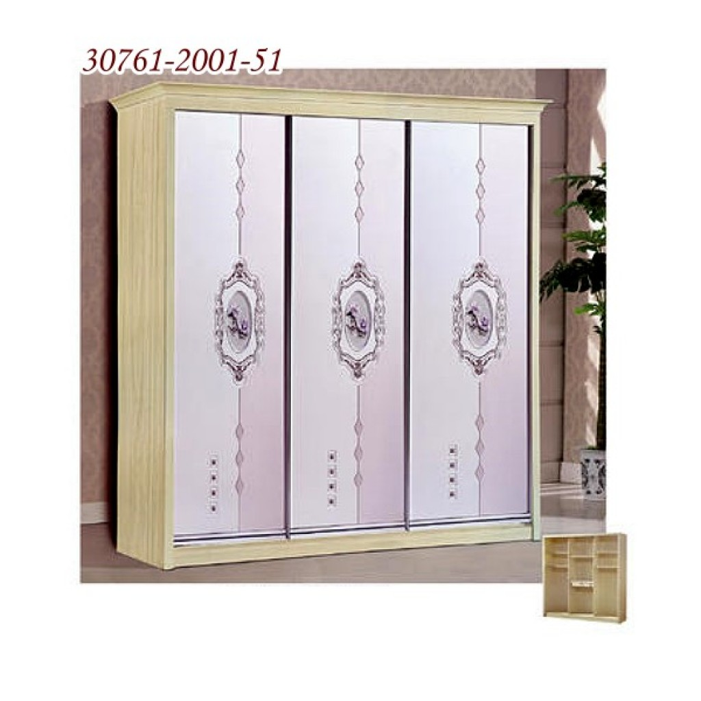 30761-2001-51 Wooden Sliding Door Closet
