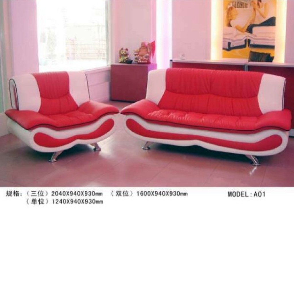 30895-A01 Leather Sofa Set