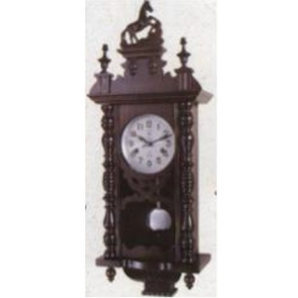 3108-2053 Wooden Wall Clock