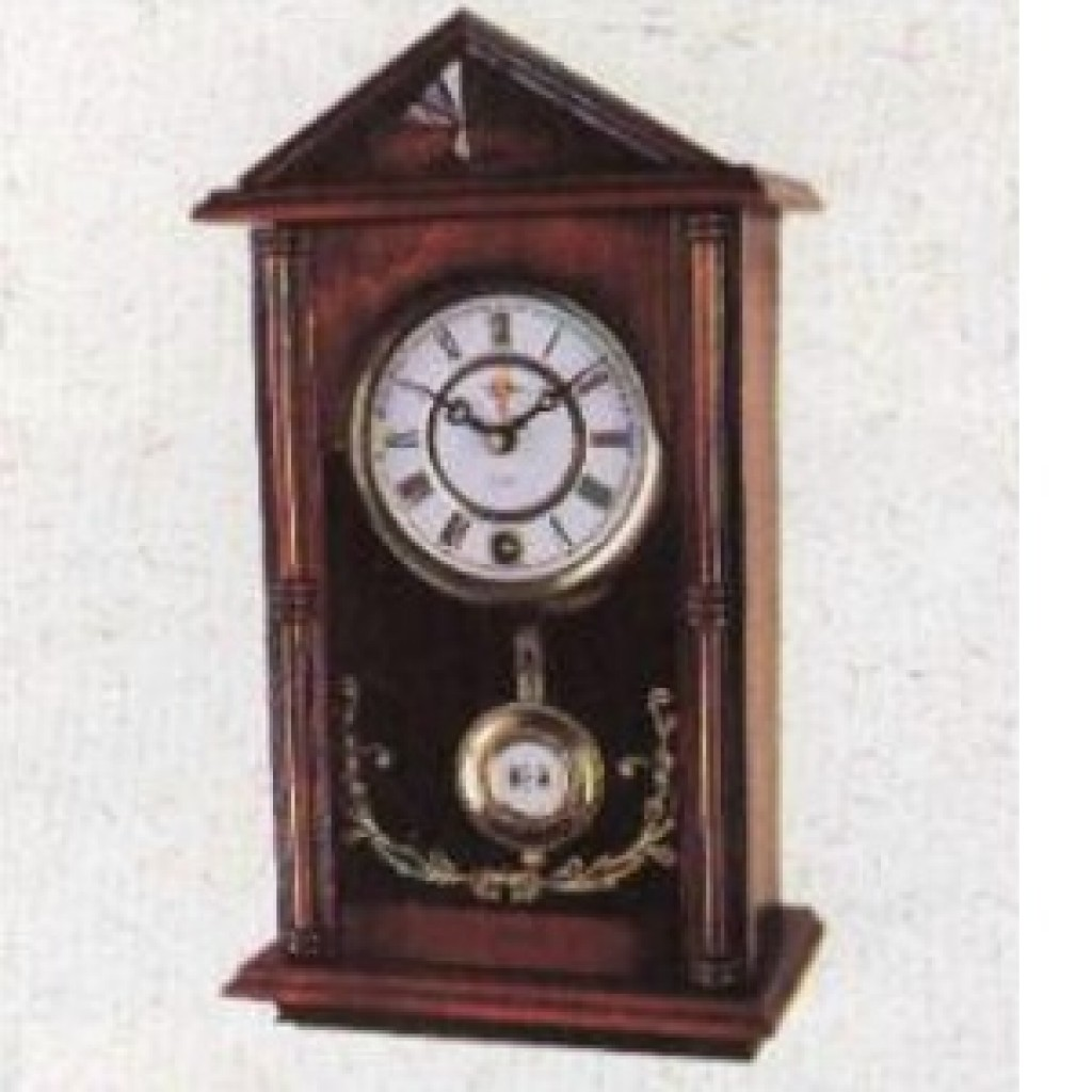 3108-2161 Wooden Table Clock