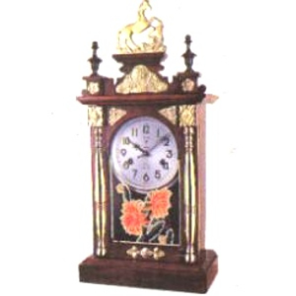 3108-2151 Wooden Table Clock