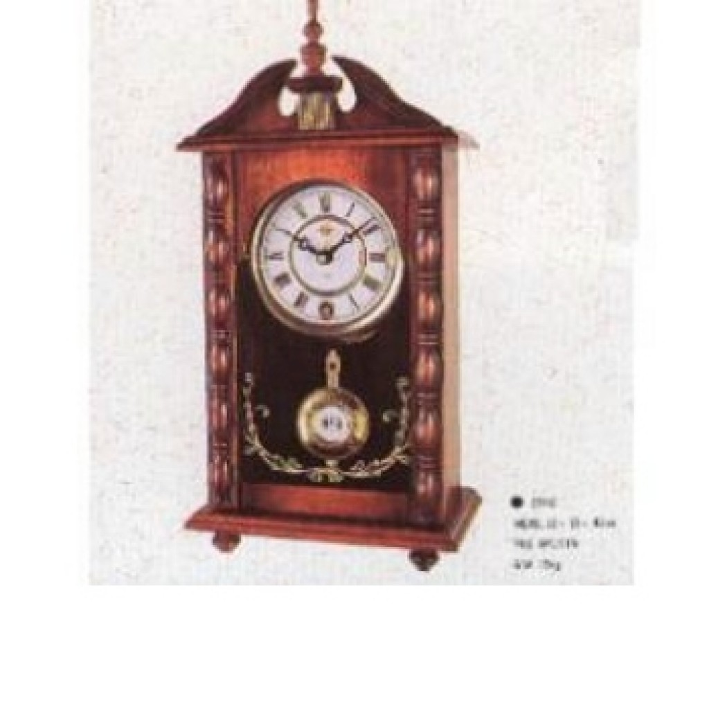 3108-2162 Wooden Table Clock