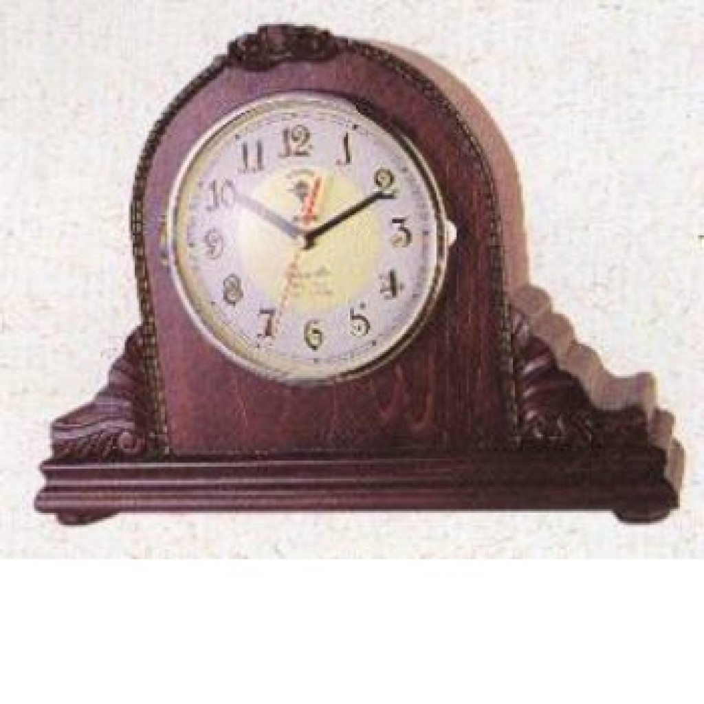 3108-DO1175 Wooden Table Clock