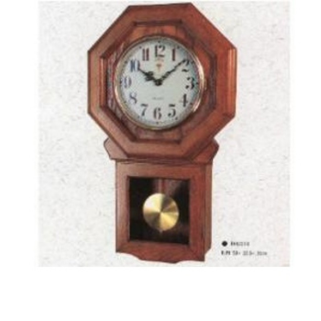 3108-DO2213 Wooden Wall Clock