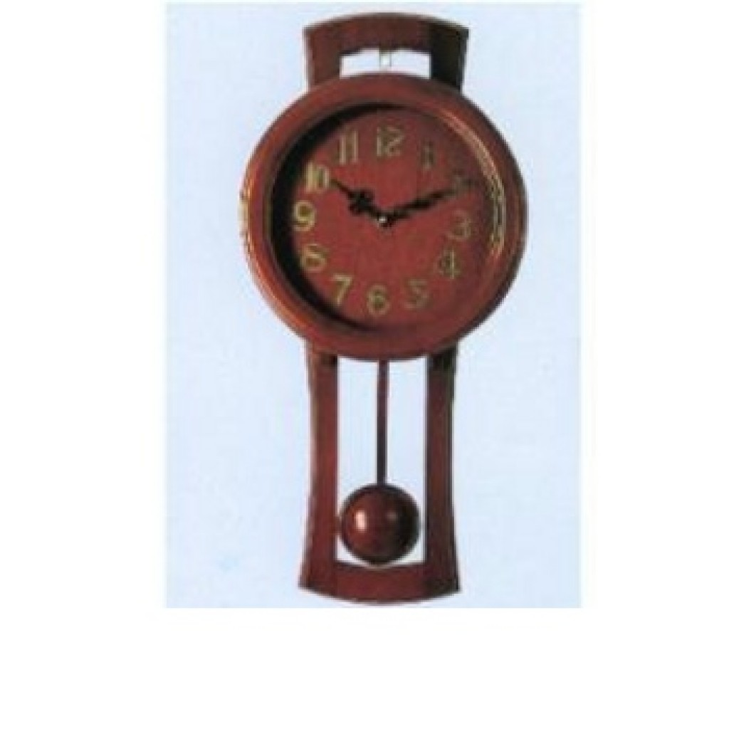 3108-QW9805 Wooden Wall Clock
