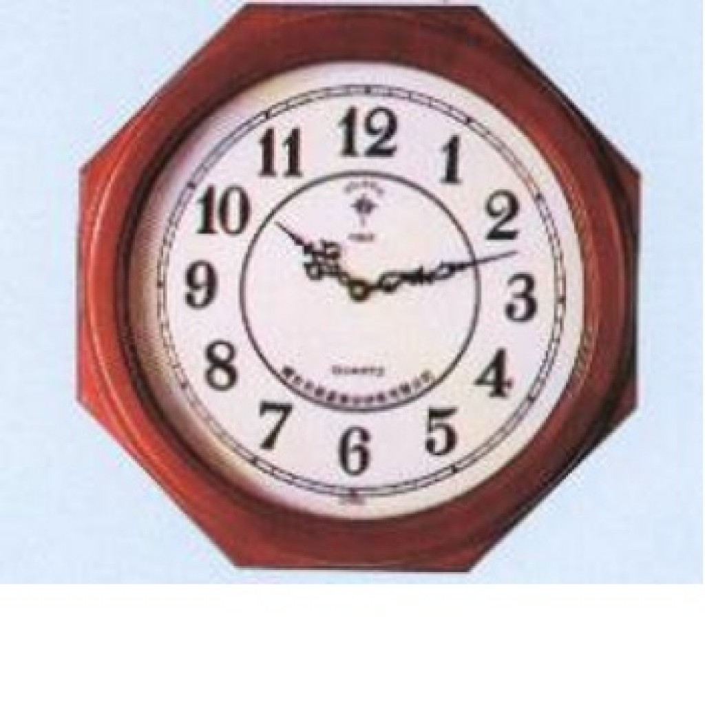 3108-QW9810 Wooden Wall Clock