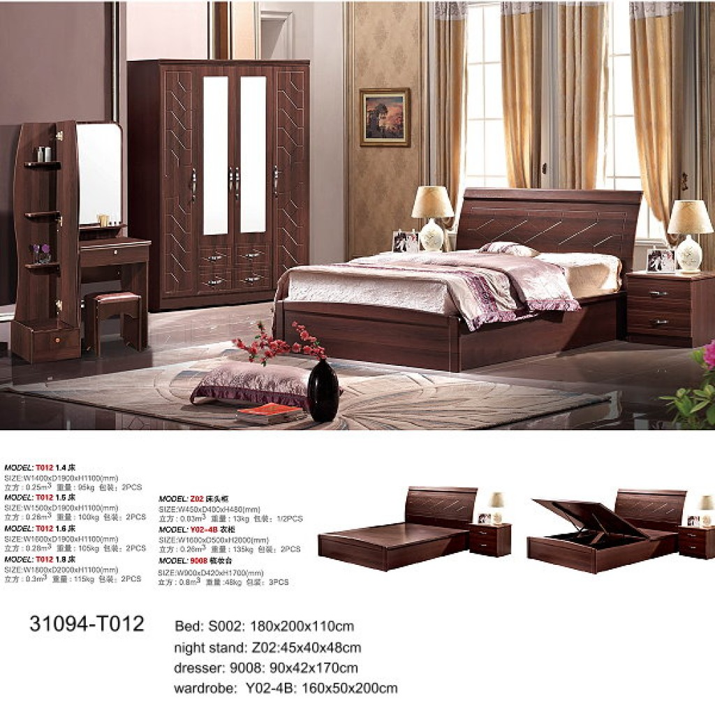 31094-T-012 PVC Bedroom Set
