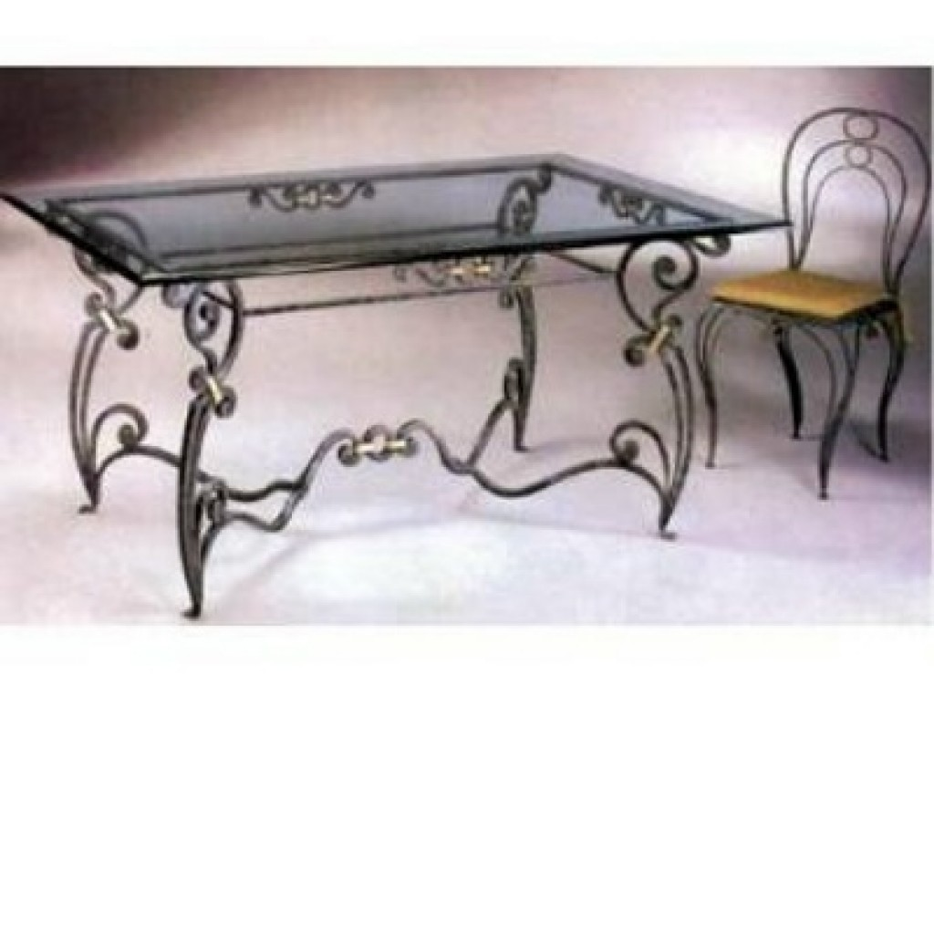3144-Fzl-603 Metal Dining Table