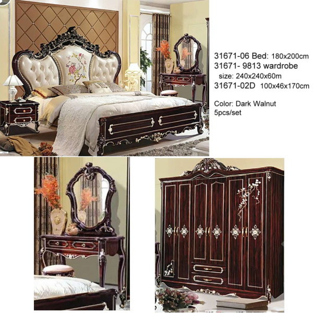 31671-06-DW Classic Bedroom Set