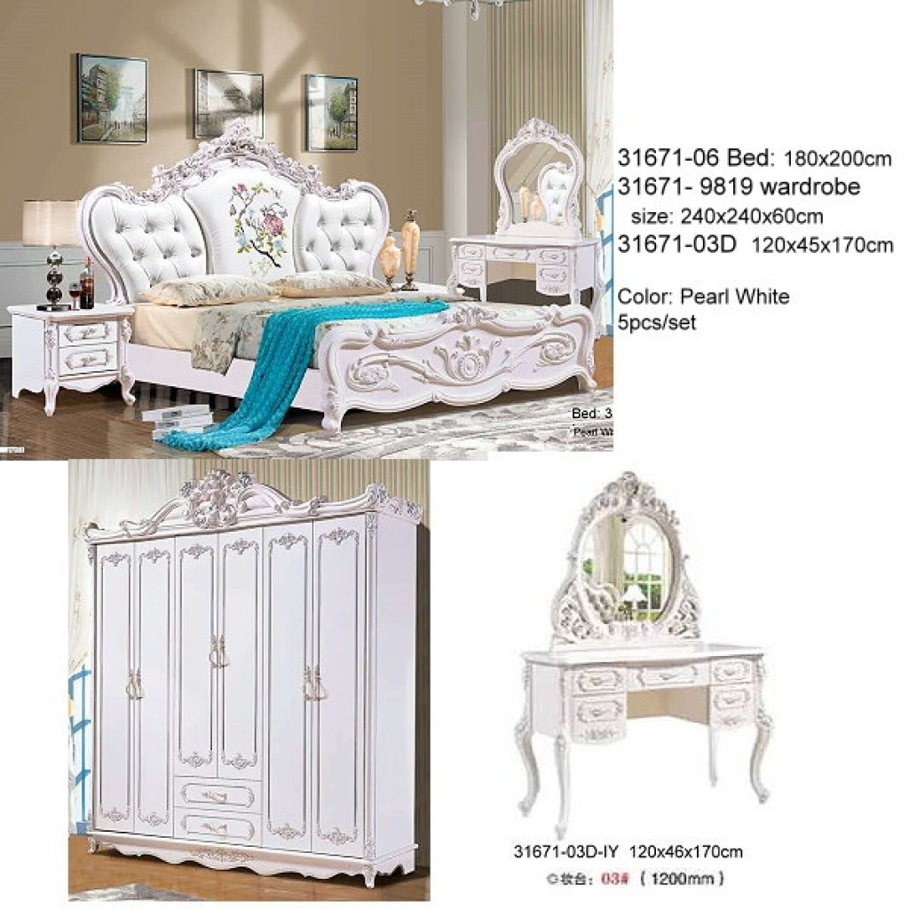 31671-06-PL Classic Bedroom Set