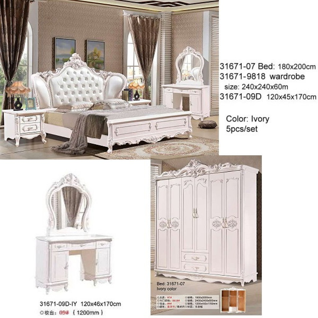 31671-07-IY Classic Bedroom Set