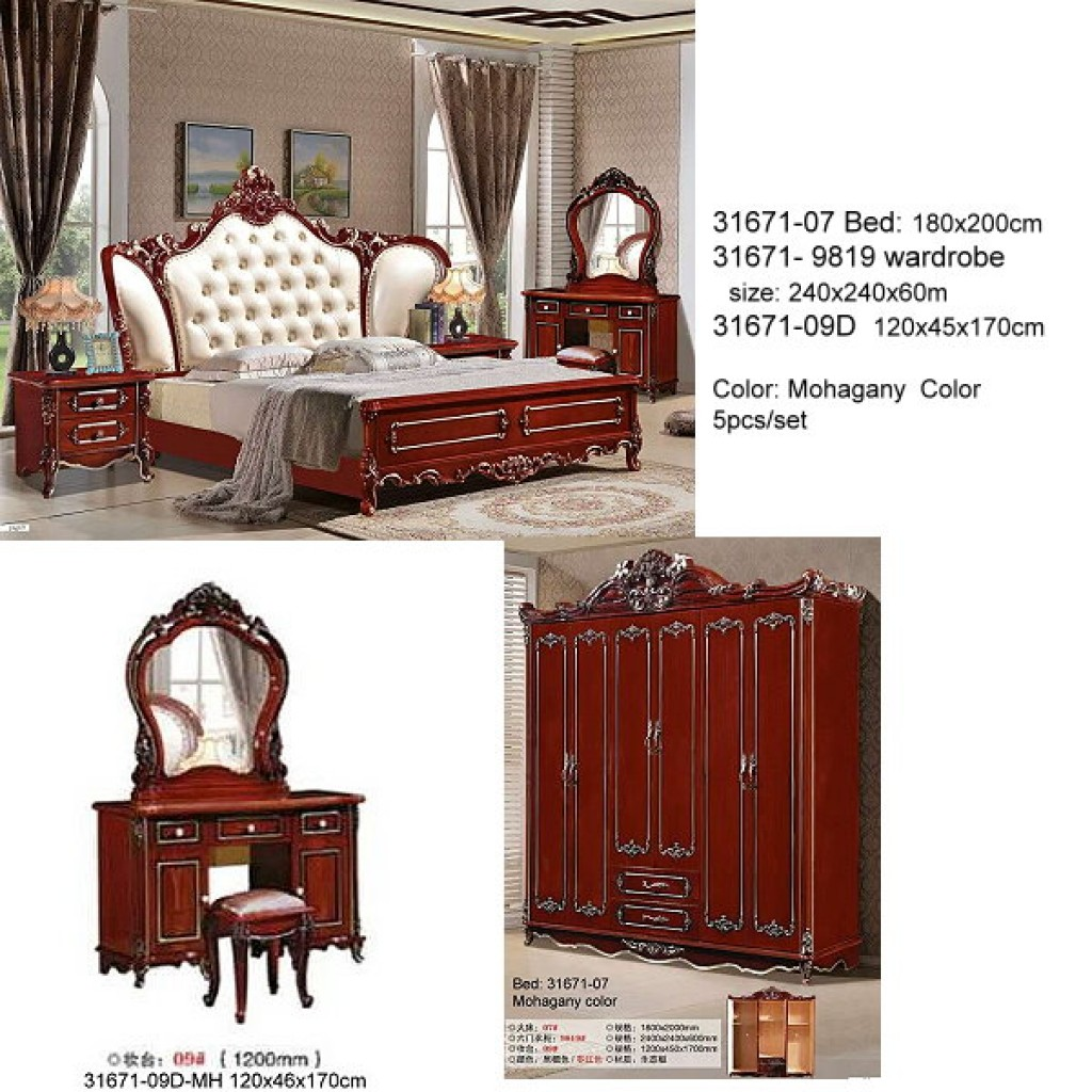 31671-07-MH Classic Bedroom Set