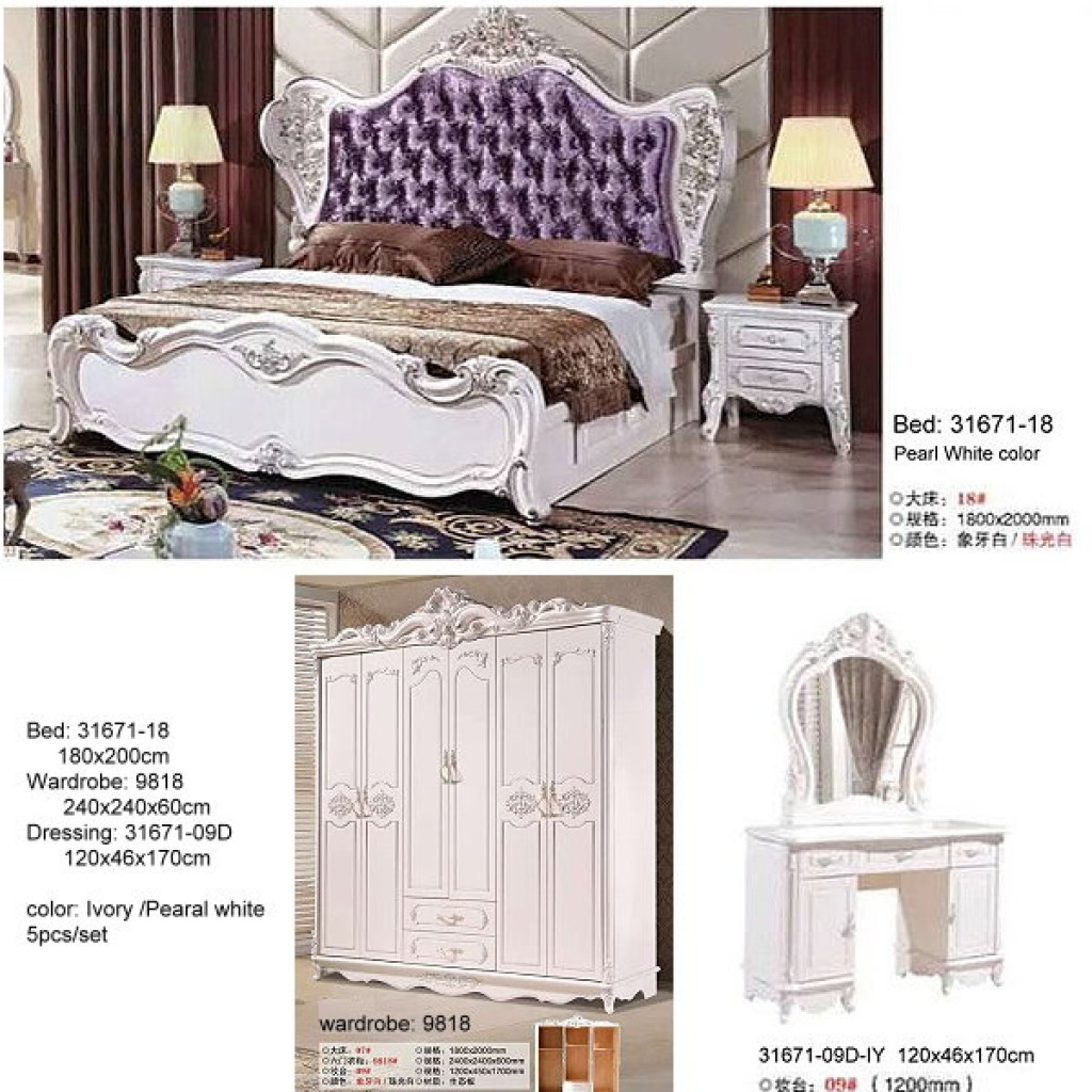 31671-18- IY Classic Bedroom Set