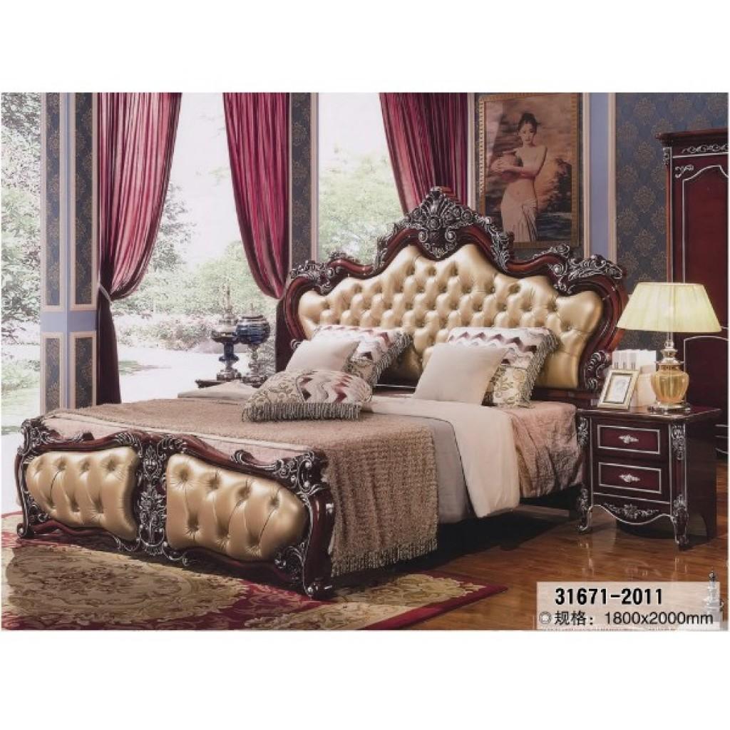 31671 2011 Antique Bedroom Furniture 3pcs Bedroom Sets Serica Corporation