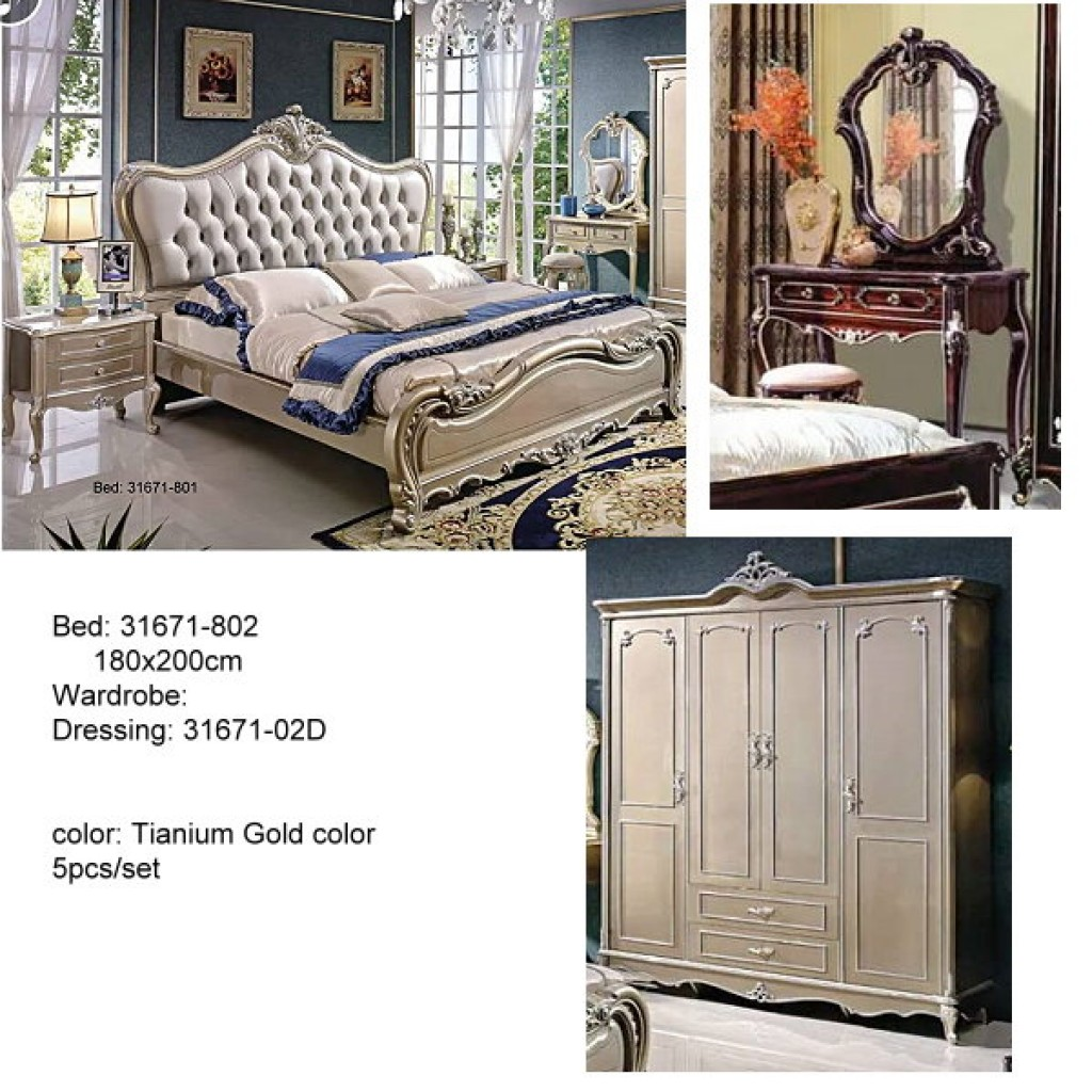 31671-802 Classic Bedroom Set