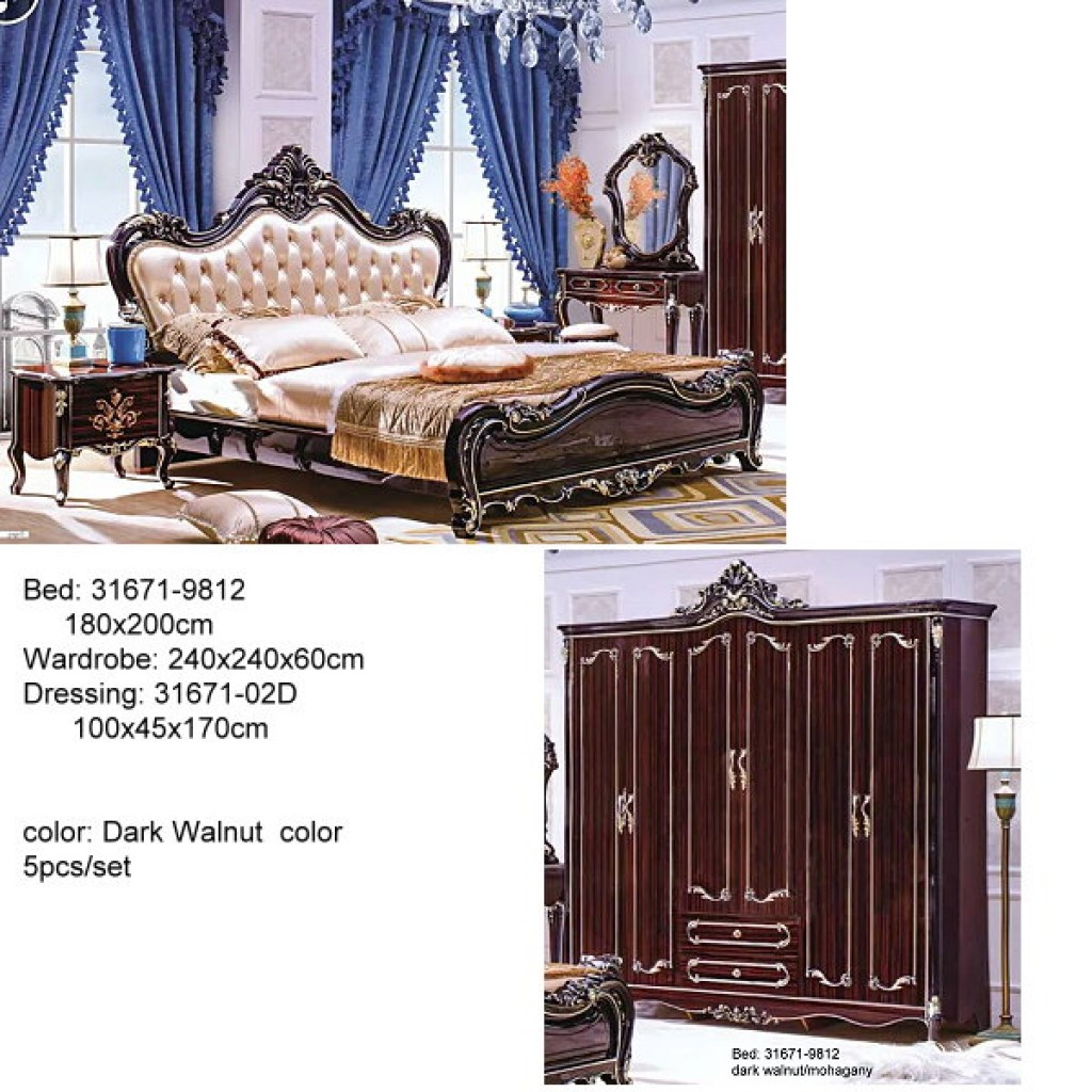 31671-9812 Classic Bedroom Set