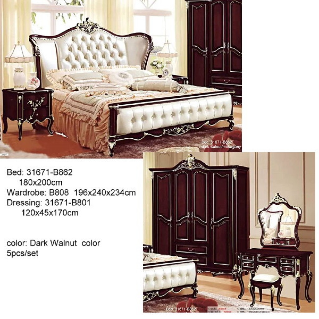 31671-B862 Classic Bedroom Set