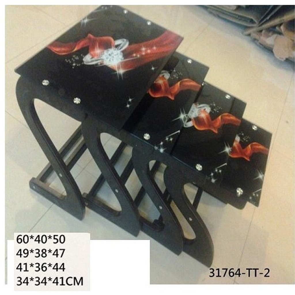 31764-TT-2  4PCS/SET NEST TABLE