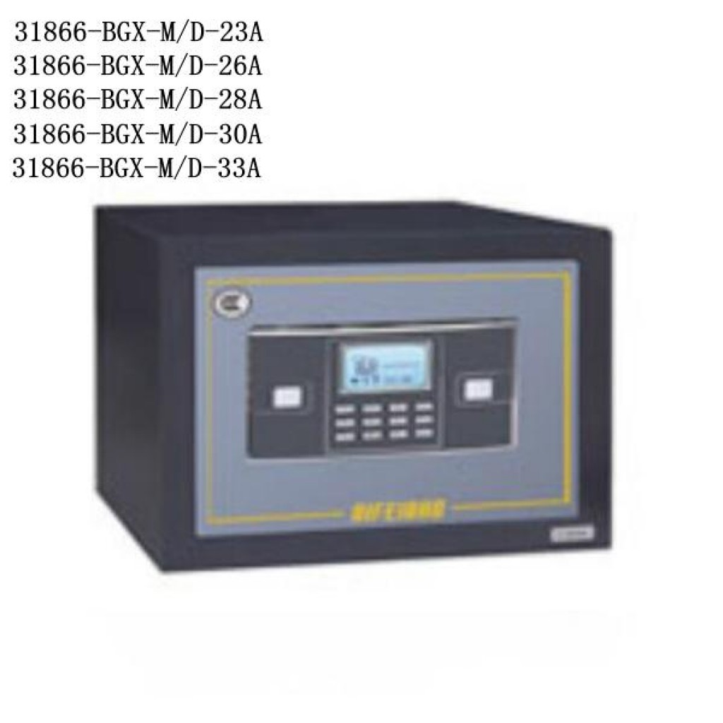 31866-BGX-M/D-23Asafe box Digital lock