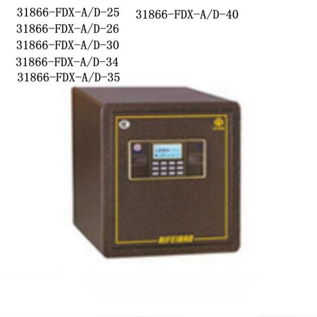 31866-FDX-A/D-25 safe box Digital lock