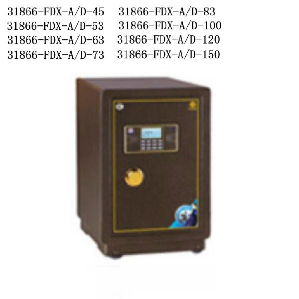 31866-FDX-A/D-45 safe box Digital lock