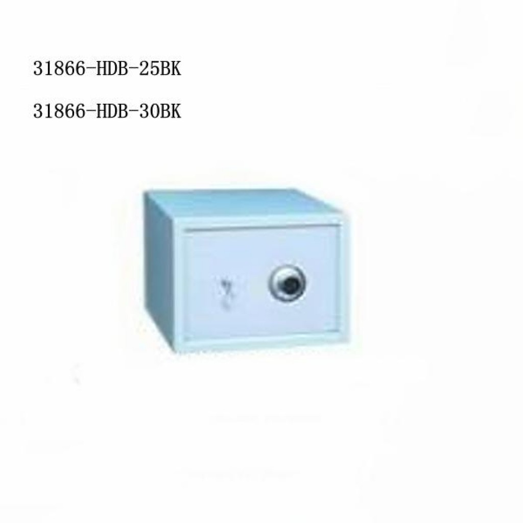31866-HDB-25BK Key & combination lock