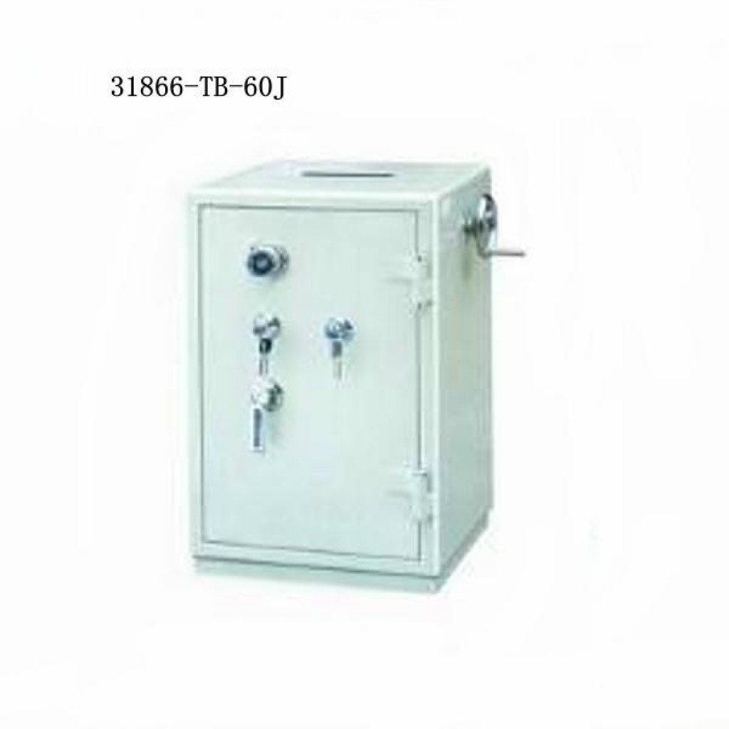 31866-TB-60J Money-insert Safe box  2  keys  lock