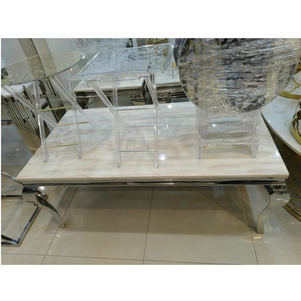 31876-109 1+2/set Stainless Steel  Coffee  Table