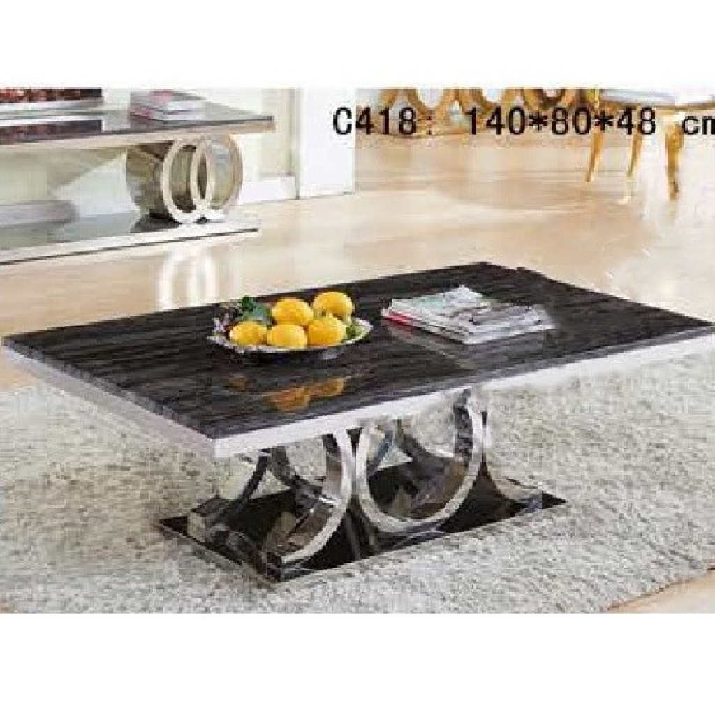 31876-418 1+2/set Stainless Steel  Coffee  Table