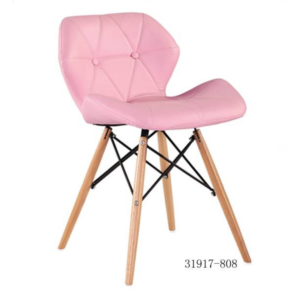 31917-808 Plastic/ Wooden Bar Stool